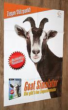 Goat Simulator: la chèvre Simulateur Poster 84x59cm gamescom
