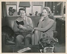 VIRGINIA MAYO Husband Original CANDID Hollywood Home Vintage 1940s Studio Photo