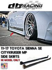 11-17 Toyota Sienna SE CITYKRUISER Side Skirt JDM SWAG WAGON [SE MODEL ONLY]