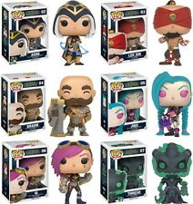 MIB Funko POP! Games LEAGUE OF LEGENDS SET of 6 Vinyl Figures + FREE Shipping!