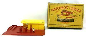 VINTAGE  LESNEY 1959 - MATCHBOX - MG1 GARAGE SERVICE STATION - WITH ORIGINAL BOX