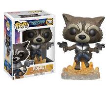 Funko Pop Rocket 201, Guardianes de la Galaxia, Marvel, Nuevo