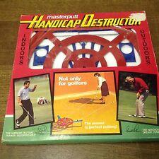 Vintage Golf Aid Masterputt Handicap Destructor - Reduce Your Handicap Rare