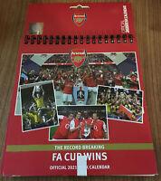 Arsenal FC Legends Desk Calendar 2021 NEW