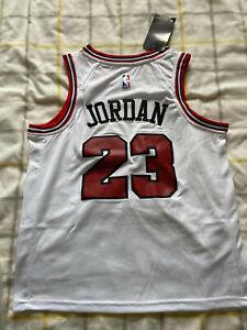 Chicago Bulls Michael Jordan #23 Retro Basketball Jersey Medium M Micheal 23