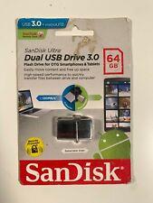 Sandisk Dual USB Drive -  64GB