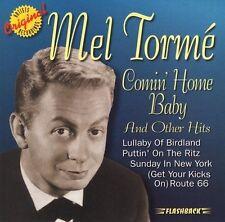 Comin' Home Baby! by Mel Torme' (CD, Jun-1997, Rhino Flashback) New