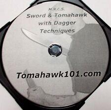 Philippines Sword w Dagger Training Espada Filipino Techniques Video Knife DVD