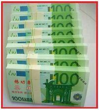 PRECIOSA REPLICA DE BILLETE DE 100 EUROS / GRAN CALIDAD - NUEVO PLANCHA OFERTA /