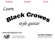 Custom Guitar Lessons, Learn Black Crowes - Dvd Video