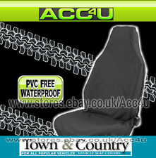 Town & Country Muddy Waterproof 3D BLACK Car Front Single Seat Cover Protector