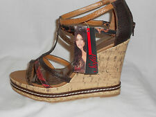 NEW WITH TAGS SOFIA VERGARA  WOMAN'S WEDGE SHOES #30337  SIZE 10
