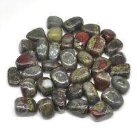 Natural Dragon Blood Jasper Tumbled Stones Bulk Healing Crystals Reiki Minerals