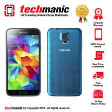 Samsung Galaxy S5 Mini SM-G800F - 16GB - Blue (Unlocked) Smartphone - Grade A