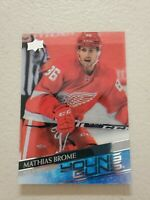Mathias Brome 2020-21 Upper Deck Series 2 #468 Young Guns Clear Cut Acetate RC