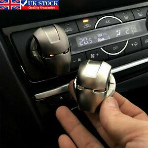Car Interior Iron Man Engine Button Switch Cover Start Stop Push Titanium Black