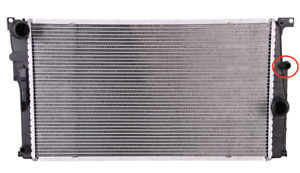 Radiator fits BMW 3 SERIES F30 335i 2012 on 17117606017