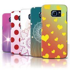 Étuis, housses et coques jaunes Pour Samsung Galaxy S6 pour téléphone mobile et assistant personnel (PDA)