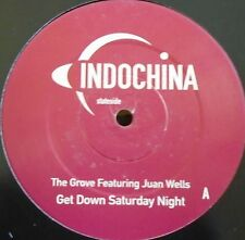 "THE GROVE feat JUAN WELLS ~ Get Down Saturday Night ~ 12"" Single"