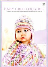 Baby Crofter Girls - Sirdar Knitting & Crochet Pattern Book 425 18 Designs NB-7y