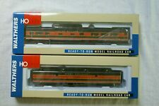 Great Northern Walthers 72-ft baggage, Empire Builder dome coach - 2 cars