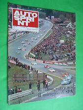 AUTOSPRINT 1973 19 Ferrari Matra Alfa Targa Florio + domenica sprint