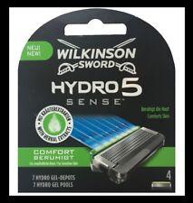 4 Wilkinson Sword Hydro 5 Sense Rasierklingen mit Kräuterextrakten * NEUHEIT *