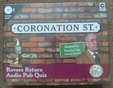 Coronation Street Rovers Return Audio Pub Quiz Hosted by Norris Cole 3 X Cd's