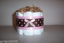 L@K.Mini Precious Girl Diaper Cake - Baby Shower