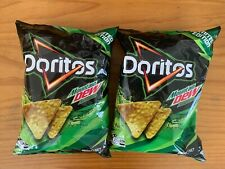 Doritos Mountain Dew Mtn Dew 150g Bag x2 (RARE HTF) exp Dec 2020 Limited Edition