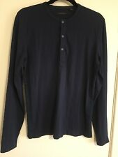 COUNTRY ROAD  Navy 100% Cotton TOP Suit 10 Long Sleeve