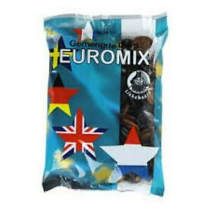 Gemengde Drop - Euromix, (Dutch Licorice Mix) By Likkebaard, 750g Bag