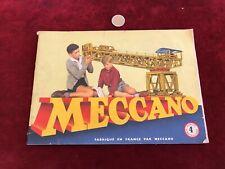 catalogue brochure de jouet N 21 meccano