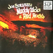 JOE BONAMASSA MUDDY WOLF AT RED ROCKS TRIPLO VINILE LP 180 GRAMMI NUOVO !!