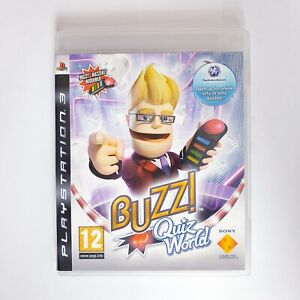 Buzz Quiz World - Sony Playstation 3 PS3 - Free Postage