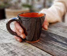 Handmade ceramic coffee mug , new,,