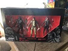 Star Wars Black Series Rogue One 3-Pack Cassian Jyn Death Trooper Target Exclusi
