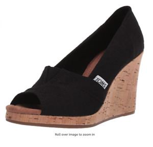 NEW & AUTHENTIC TOMS Women's Classic Wedge Sandal