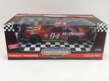 1995 McDonald's Thunderbird Nascar Bill Elliott Ertl 1:18 Nib Die Cast Metal