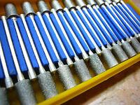 30 tlg. THK Diamant Fräser Set 6mm Zylinder Schleifstift Marmor zylindrisch Neu