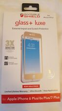 """NEW ZAGG Glass + Luxe Screen Protector for Apple iPhone 7 PLUS (5.5"""") ROSE GOLD!"""