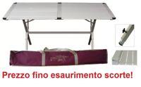 TAVOLO TAPPARELLA CAMPEGGIO GENIUS 150x80 + BORSA TRASPORTO - FINO A 6 PERSONE