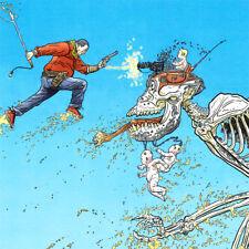 "SHAOLIN COWBOY Signed ART PRINT Skeleton GEOF DARROW Baby MACHINE GUN 19 x 13"""