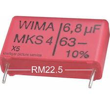 4 x WIMA MKS-4 6,8µF 63V 10% 22,5 Kondensator MKS MKS4 Rohs konforme Neuware