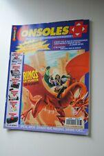 CONSOLES PLUS N° 7 MAGAZINE MARS 1992 NINTENDO SEGA CONSOLE REVUE