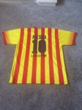 FC Barcelona MESSI Shirt Age 14 Yrs