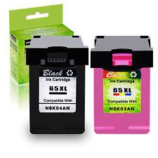 65XL 65 XL Black / Color Ink Cartridge For HP Deskjet 2652 2655 3752 3755 3758
