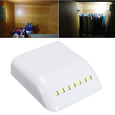 LED Light Sensor Night Lamp Inner Hinge Cabinet Wardrobe Drawer Battery Powered&