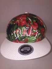 MENS TRUKFIT FLORAL CAP SNAPBACK ADJUSTABLE HAT ONE SIZE