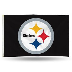 3x5 outdoor Flag - NFL Football - Pittsburgh Steelers